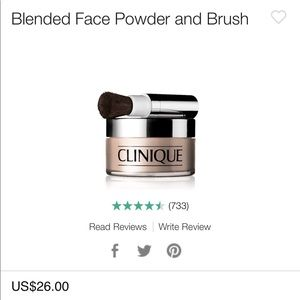 Clinique Blended Powder Transparency 4
